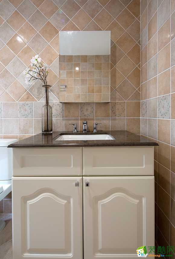 卫浴  太原沐林装饰-美式两居室装修效果图