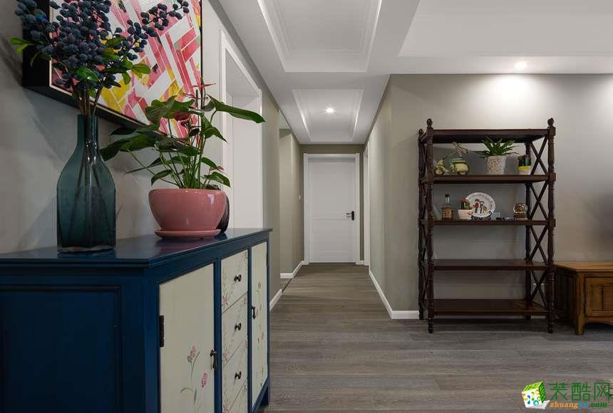 衣柜  太原沐林装饰-美式两居室装修效果图