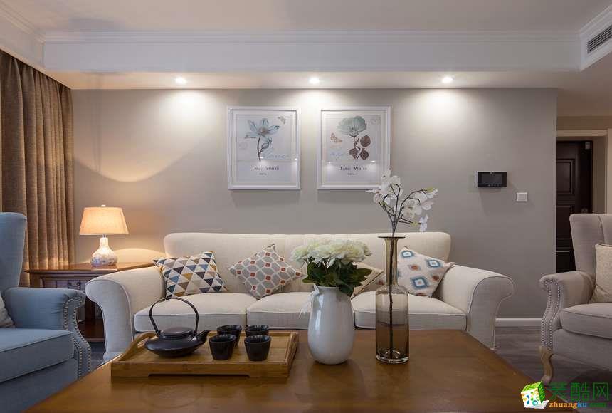 太原沐林装饰-美式两居室装修效果图