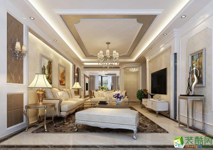 欧式风格169平米四室两厅装修效果图--岚庭装饰