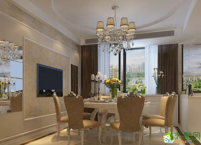 欧式风格169平米四室两厅装修效果图赏析--岚庭装饰