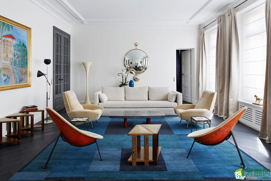 北欧风格177平米四室两厅装修效果图--兮川装饰