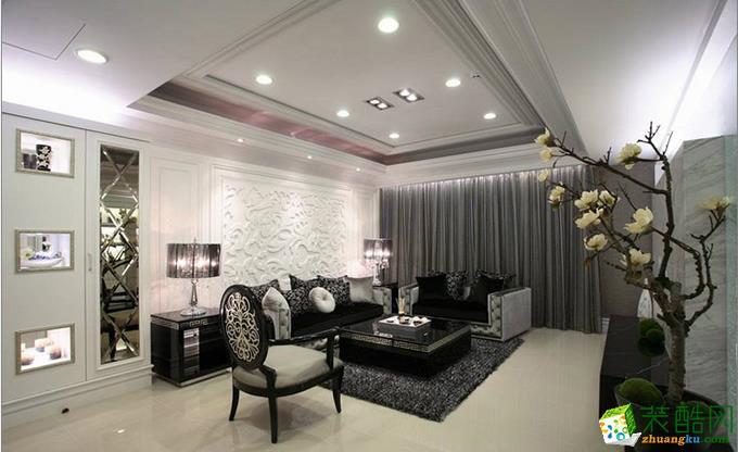 新古典风格152平米四室两厅装修效果图--铂特装饰