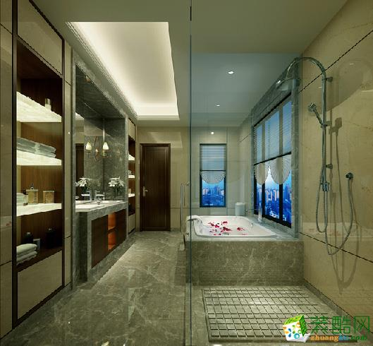 衡阳星艺装饰-中式三居室装修效果图