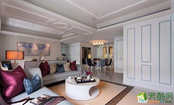 丰立装饰―蓝光林肯公园100方三室一厅北欧风格