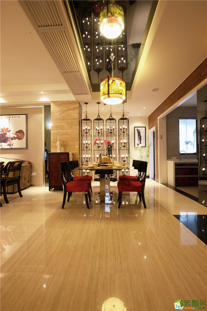 长沙生活家装饰-旭辉香樟公馆新中式两居室装修效果图