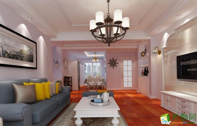 宜春亦格装饰-宜阳花园现代两居室装修效果图