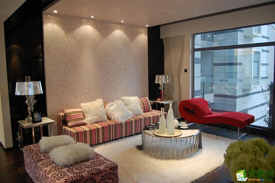 98平米两室两厅装修效果图--大晶装饰