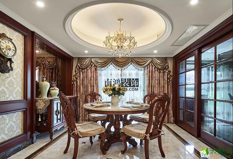 餐厅   南鸿装饰 悦麒美寓  四居 160方 欧式风格