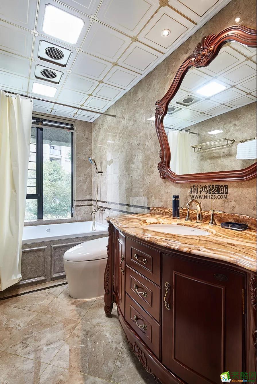 卫浴   南鸿装饰 悦麒美寓  四居 160方 欧式风格