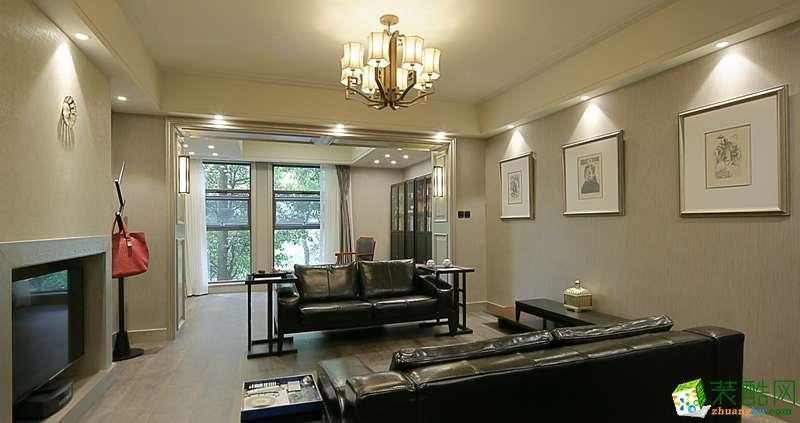 欧式风格185平米四室两厅装修效果图--新空间装饰