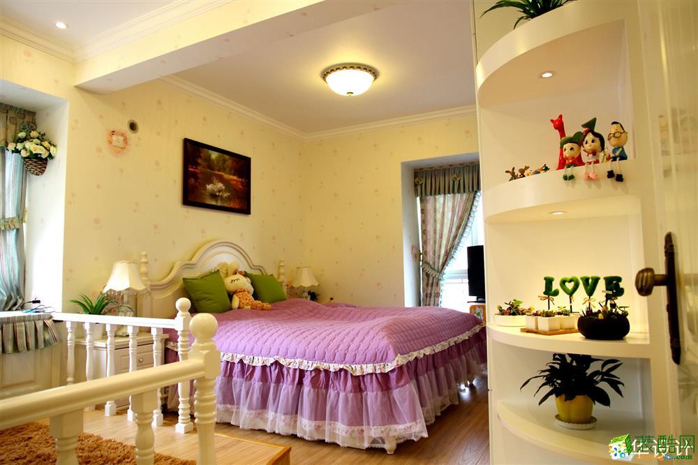 【武汉生活家】枫华锦都138方田园风格三居室装修效果图