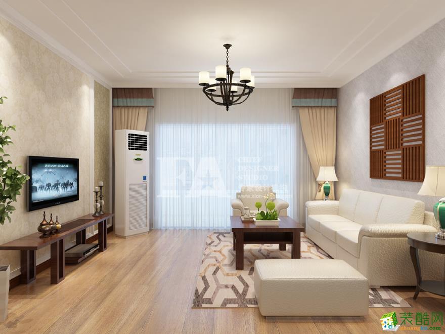 亮丽家园150�O美式古典风格