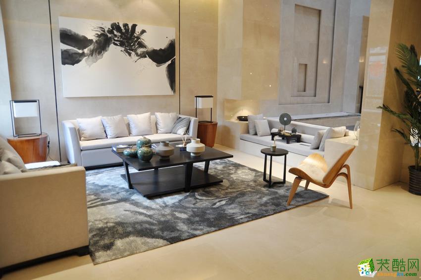 永州金煌装饰-慧谷华庭中式两居室装修效果图
