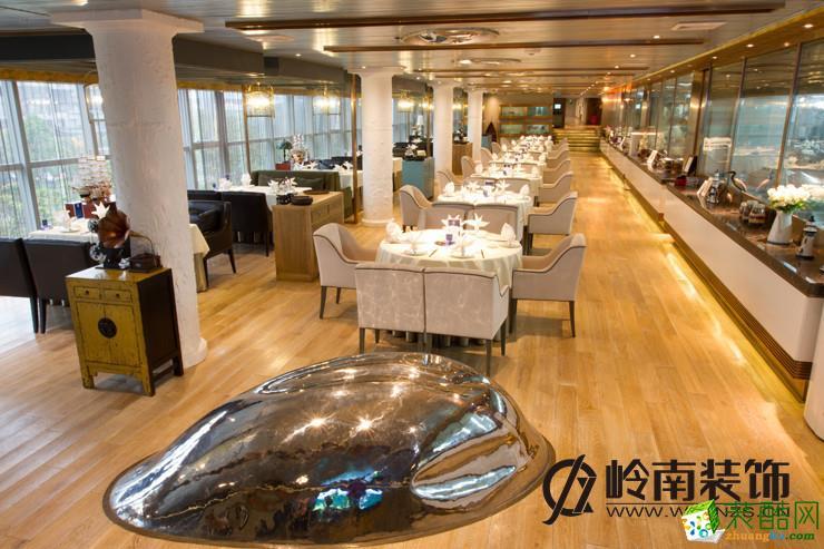 岭南装饰―武汉海乐滋餐厅装修设计案例