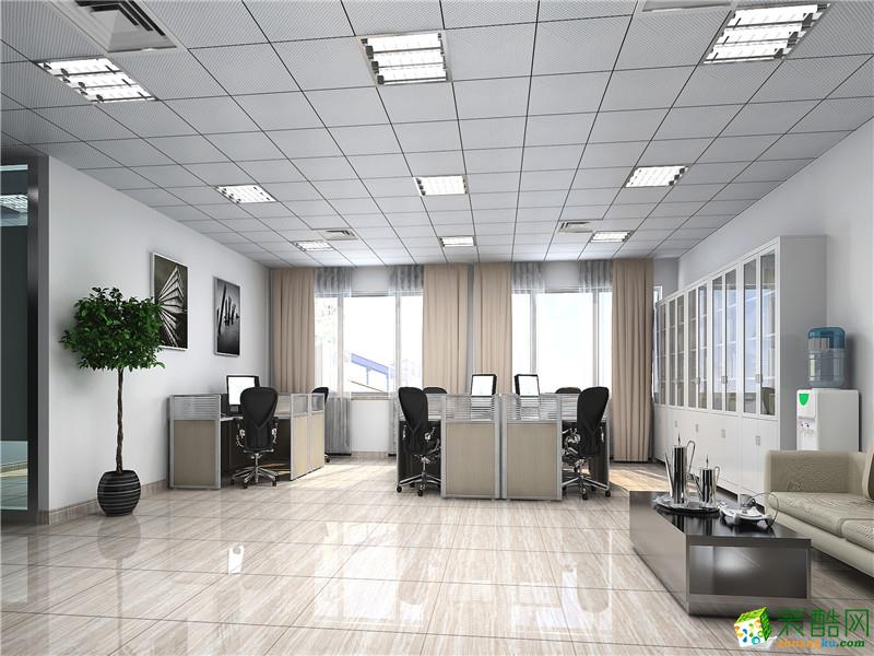 吴家山400方办公室装修设计效果图