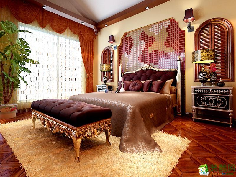 怀化木木雨装饰-地中海三居室装修效果图
