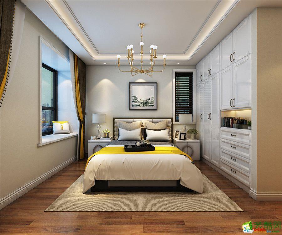 卧室【居然元洲装饰】155平米现代轻奢装修效果图
