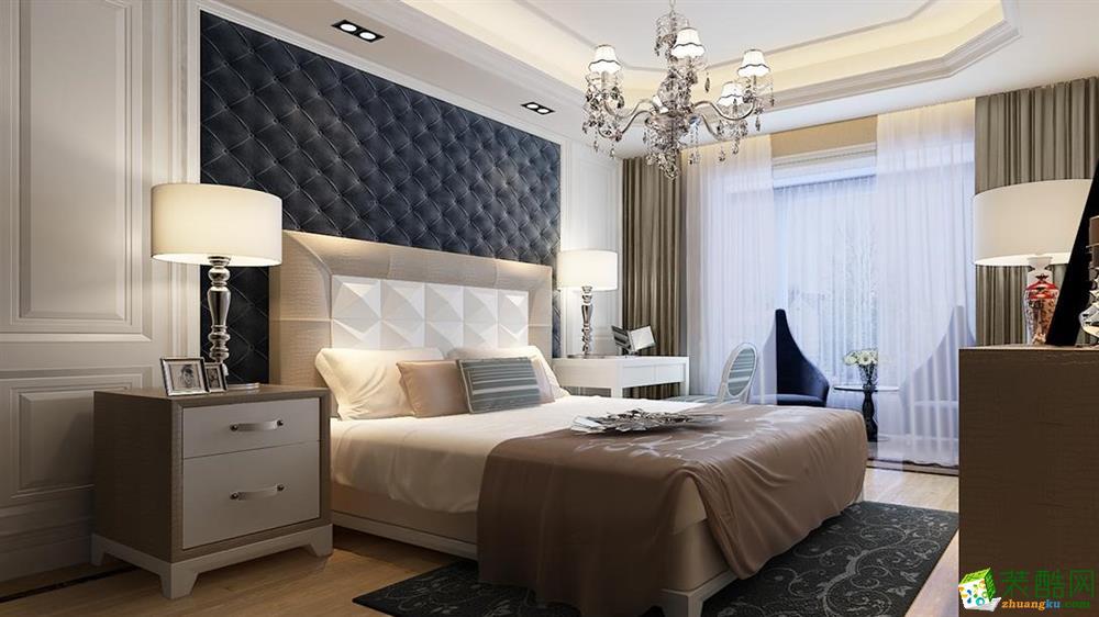 怀化荣庭装饰-现代简约两居室装修效果图