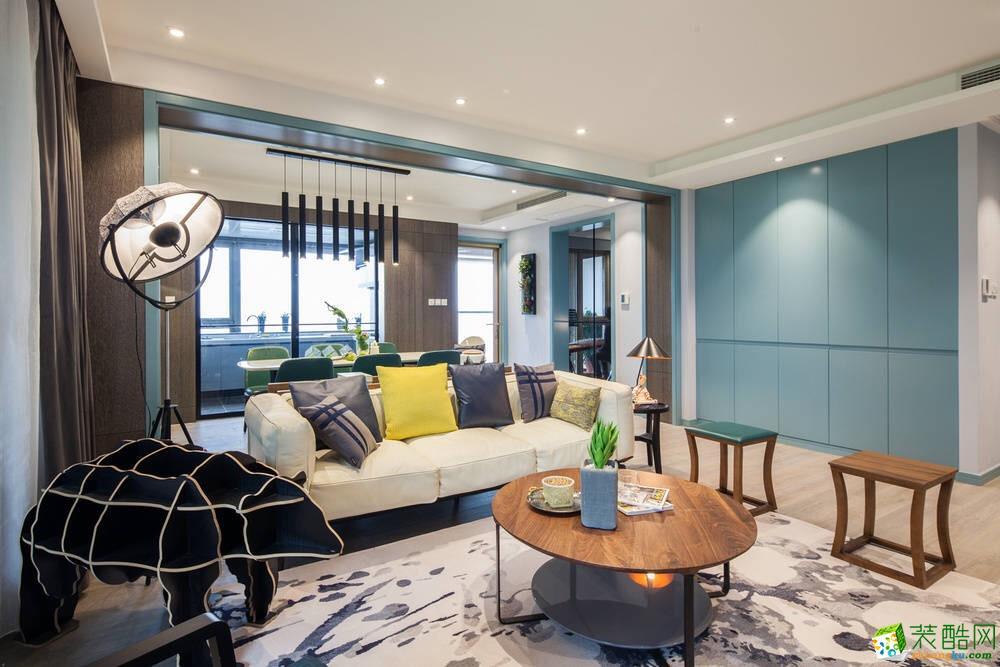禹州市无界装饰-颍园小区现代简约两居室装修效果图
