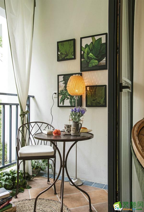 长沙随意居装饰-恒大名都地中海两居室装修效果图