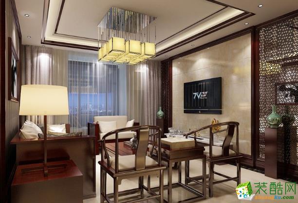 鄢陵县美平方装饰-柏梁社区东南亚两居室装修效果图