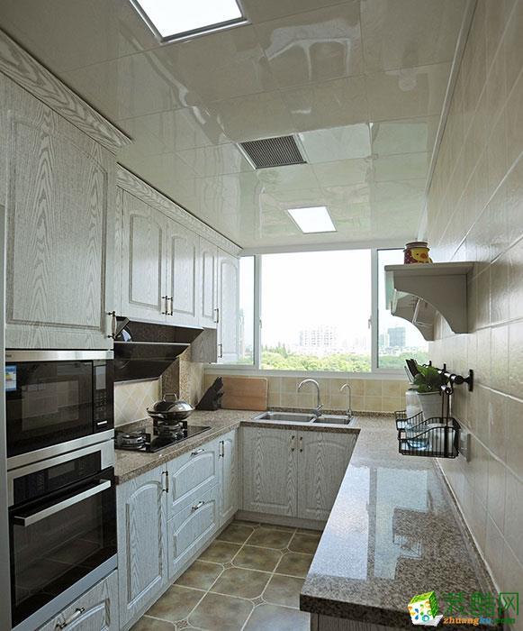廚房 現代簡約風格110平米三室兩廳裝修實景案例賞析--尚層裝飾 現代