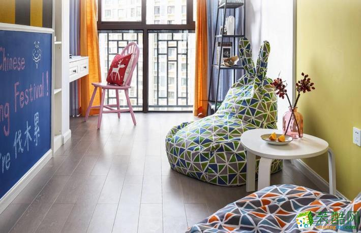 玉林市凯文装饰- 富林金桂丽湾简约两居室装修效果图
