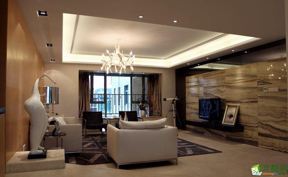 141平米混搭风格四室两厅装修效果图--名雕装饰