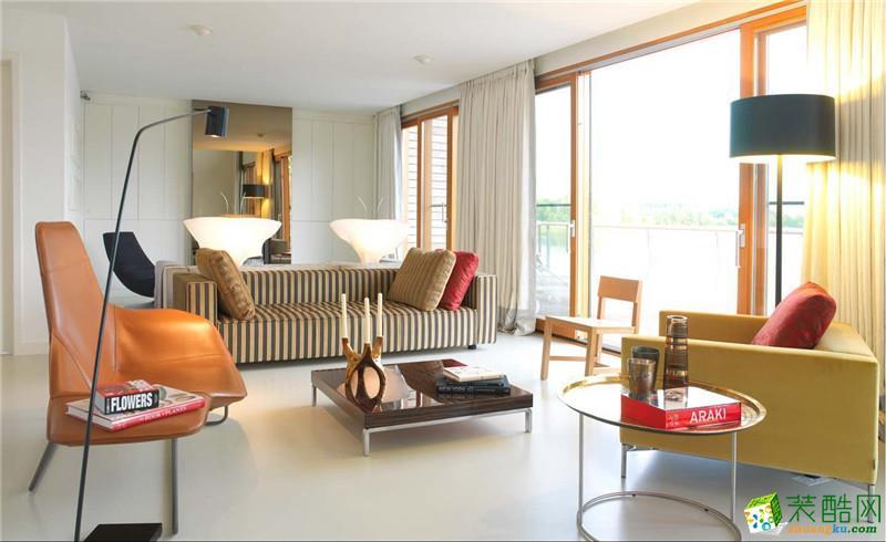 美式风格368平米别墅住宅装修实景案例--业之峰装饰