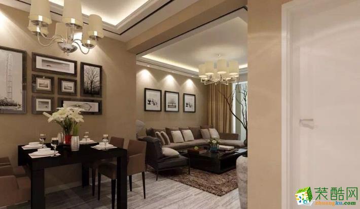 伊犁欧工装饰- 牧歌嘉园简约两居室装修效果图