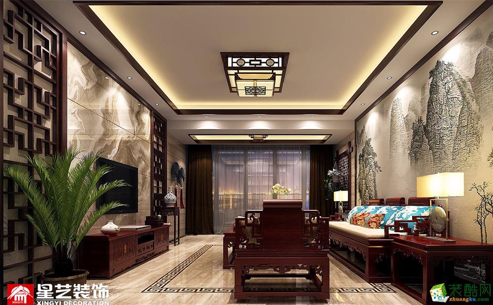 玉林星艺装饰-银丰公馆中式