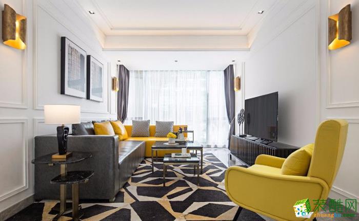高新几米家装饰-巴黎馨苑欧式两居室装修效果图