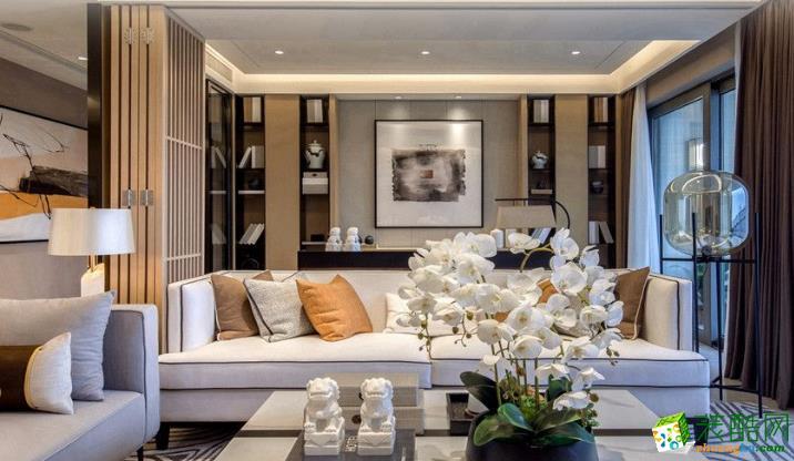 高新几米家装饰-世纪嘉苑中式两居室装修效果图