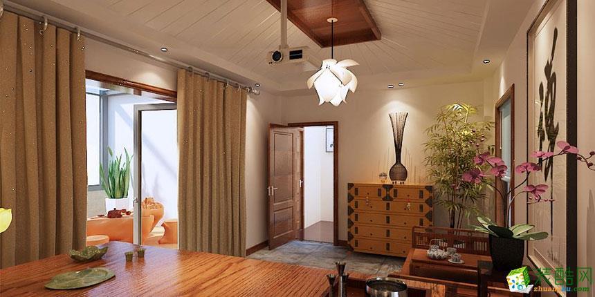 中式风格260平米别墅住宅装修效果图--紫名都装饰