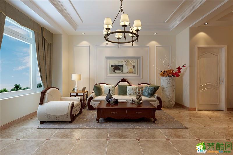 金阳装饰-半山国际简约两居室装修效果图