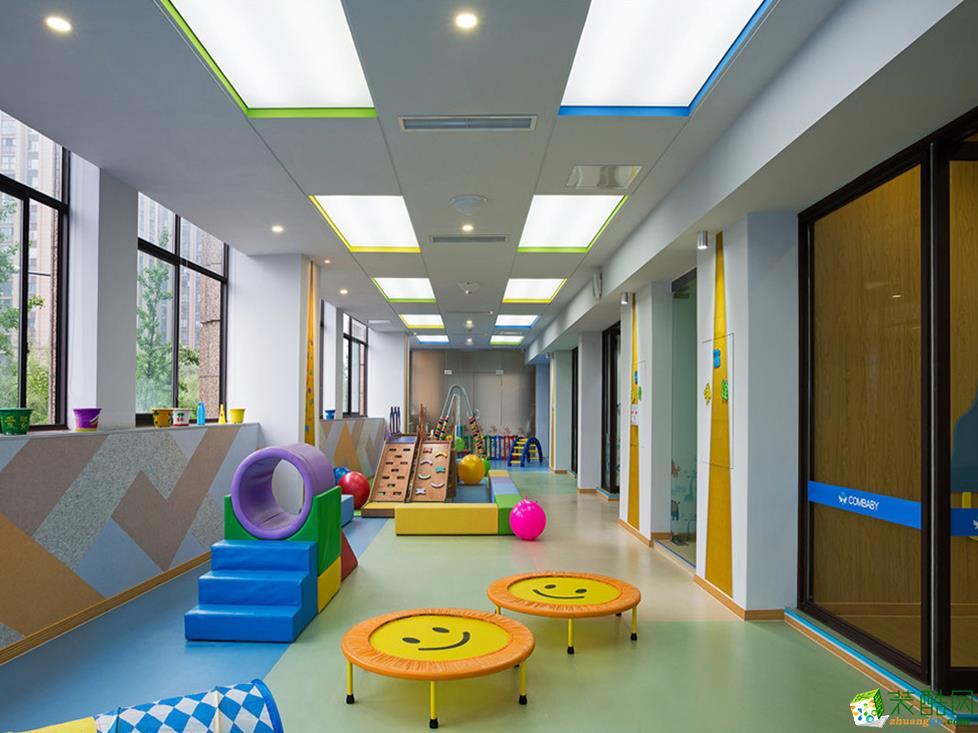 >> 『西安欧浓装饰』453平米幼儿园装修设计方案