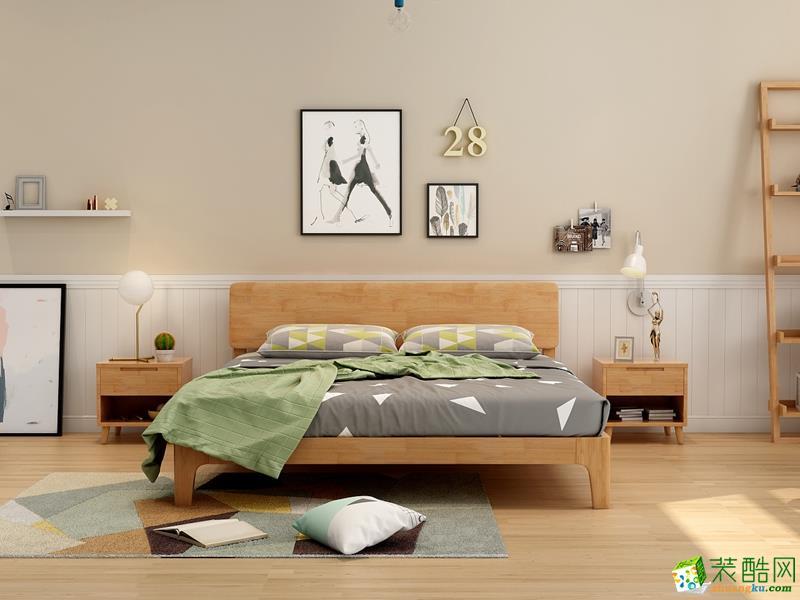 客厅  {生活家装饰}146平北欧风格案例