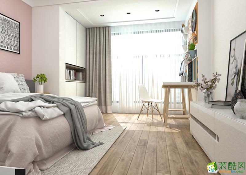 卧室  {生活家装饰}146平北欧风格案例