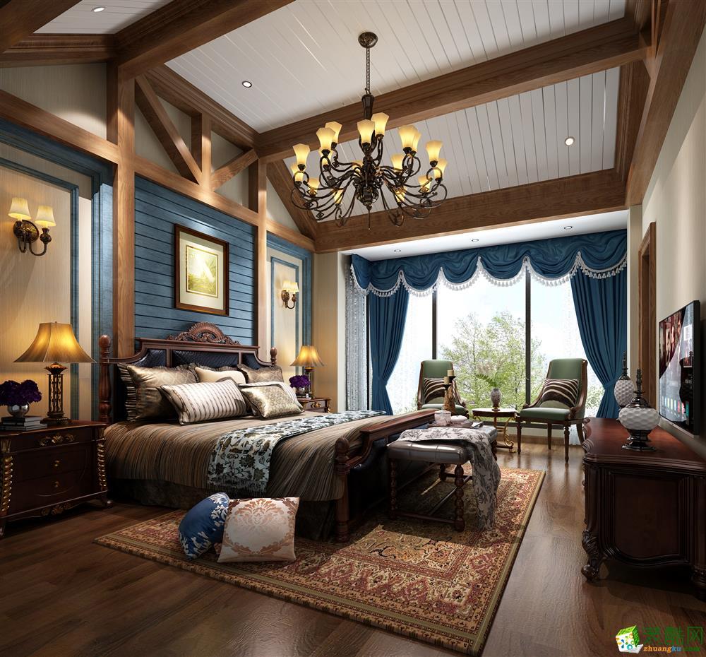 约克郡430平米混搭风格别墅住宅装修实景案例图赏析--紫苹果设计