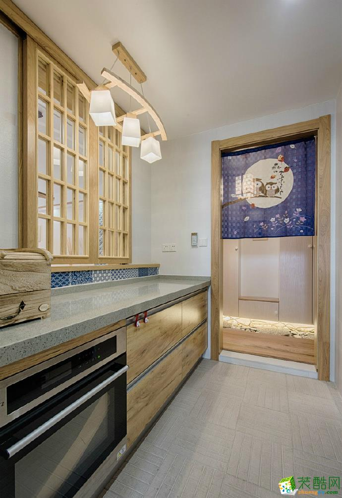 素雅日式风格110排名三居室装修效果图赏析--维享家装饰