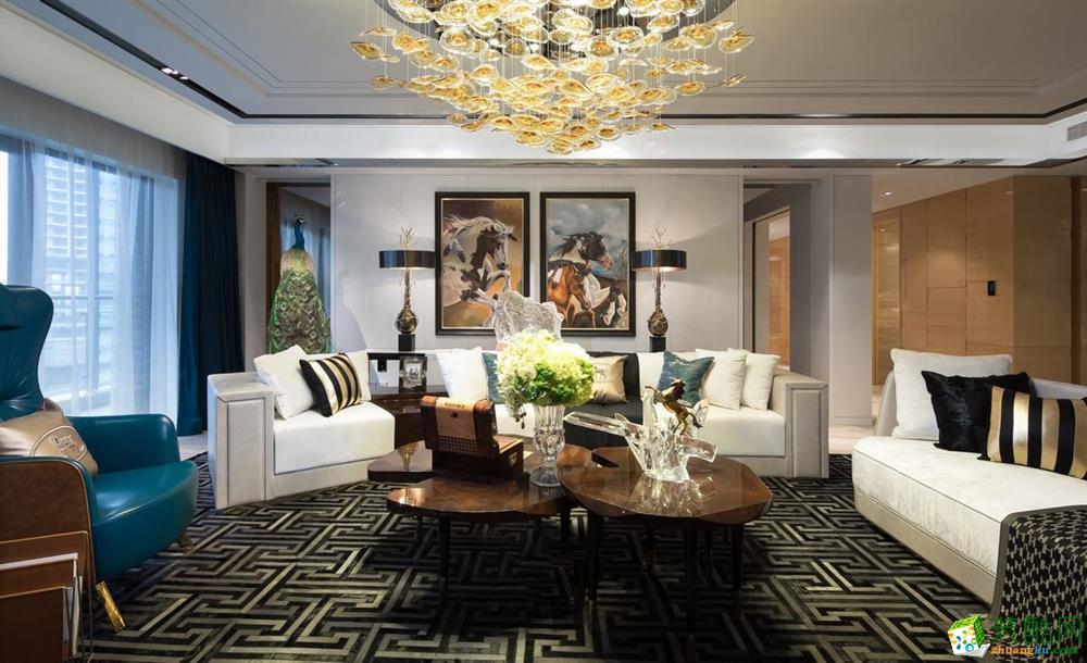 峰光无限装饰 丨珠江新城三室121平现代风格