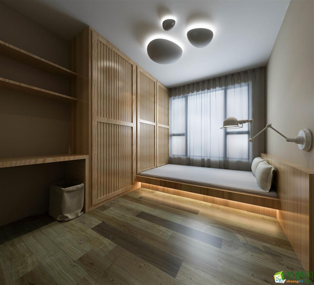 >> 未来方舟140平米黑白灰现代风格三居室装修效果图--子兰生活装饰