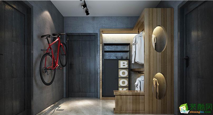 峰光无限装饰公司丨双府新天地两室99平现代风格