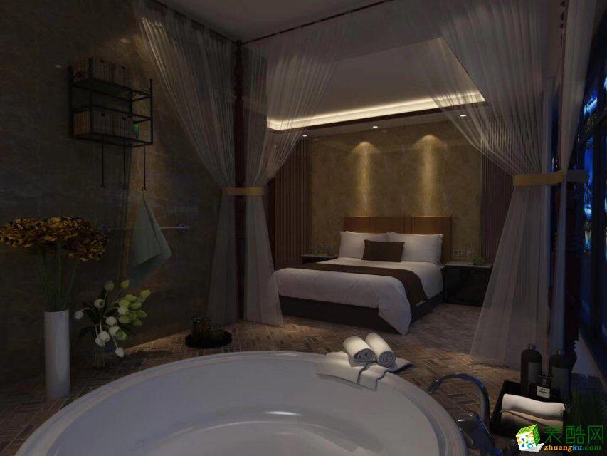 莫干山800方中式風格民宿酒店裝修