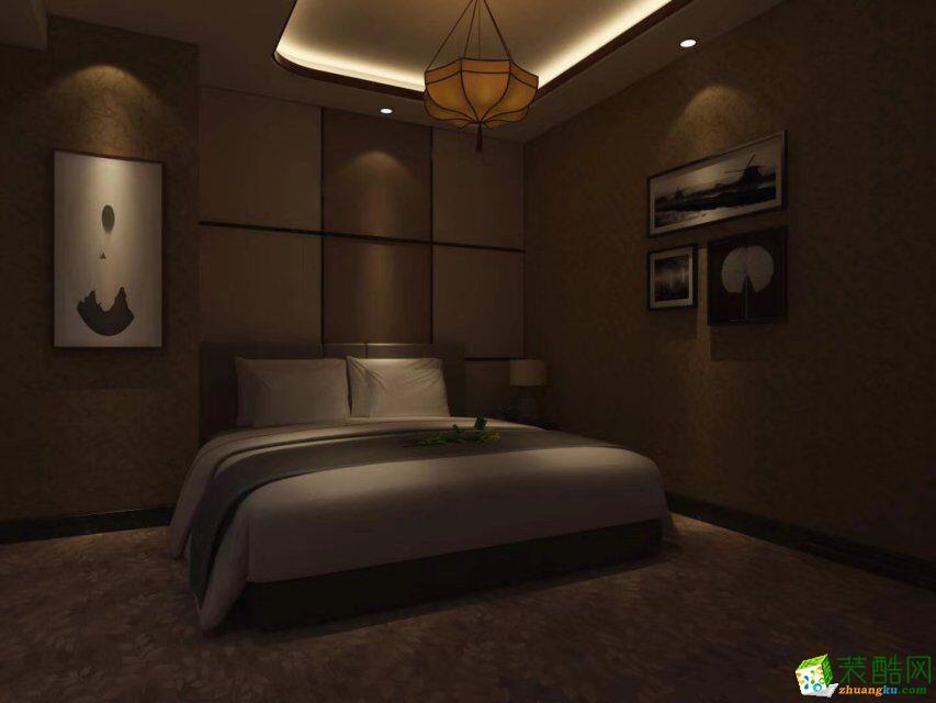 莫干山800方中式风格民宿酒店装修