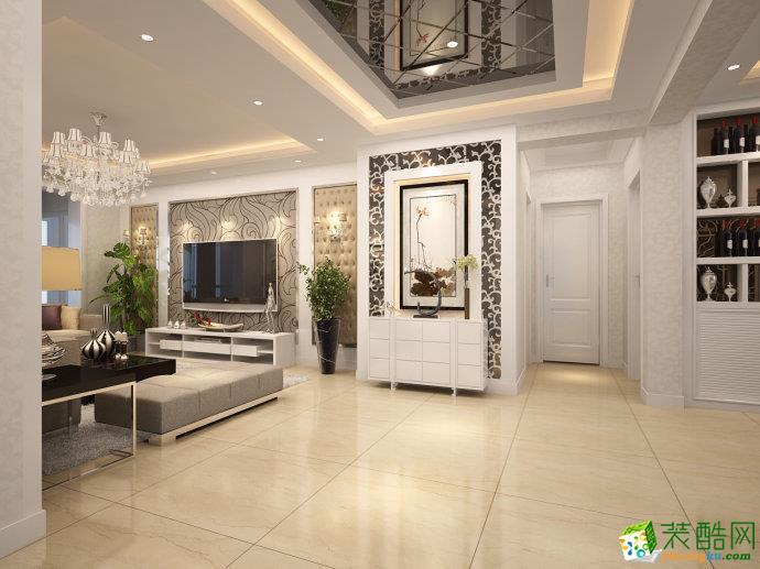 峰光无限装饰丨振业泊公馆三室140平现代风格