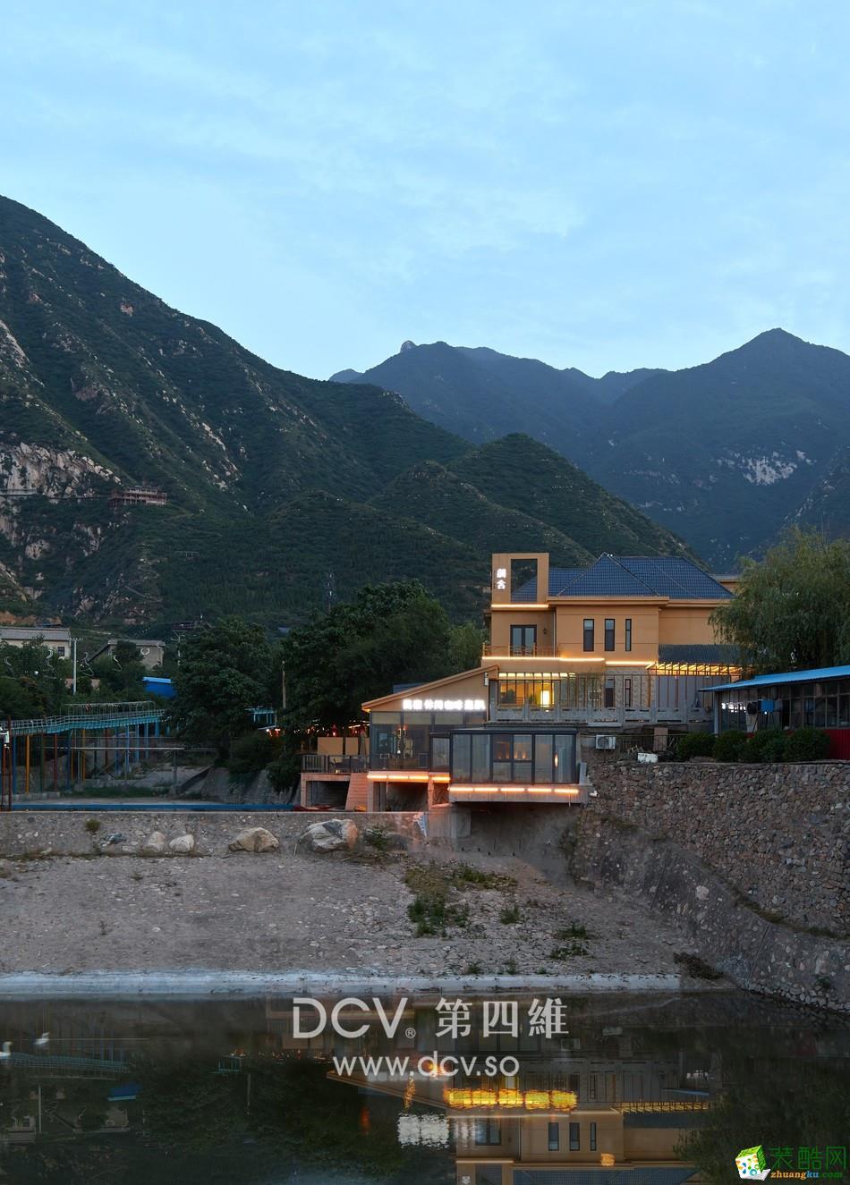 西安可以度假的民宿酒店設計-蒲舍·南谷里 (山西永濟中條山)