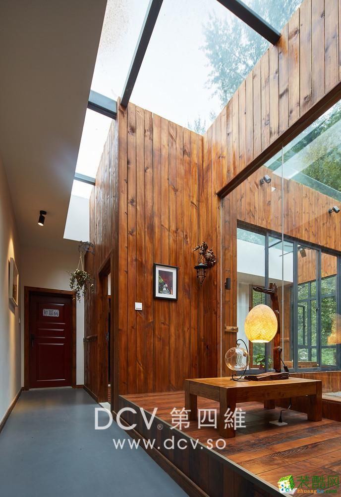 首页 装修案例 >> 西安最专业的民宿酒店设计-商洛97号motel动车驿站