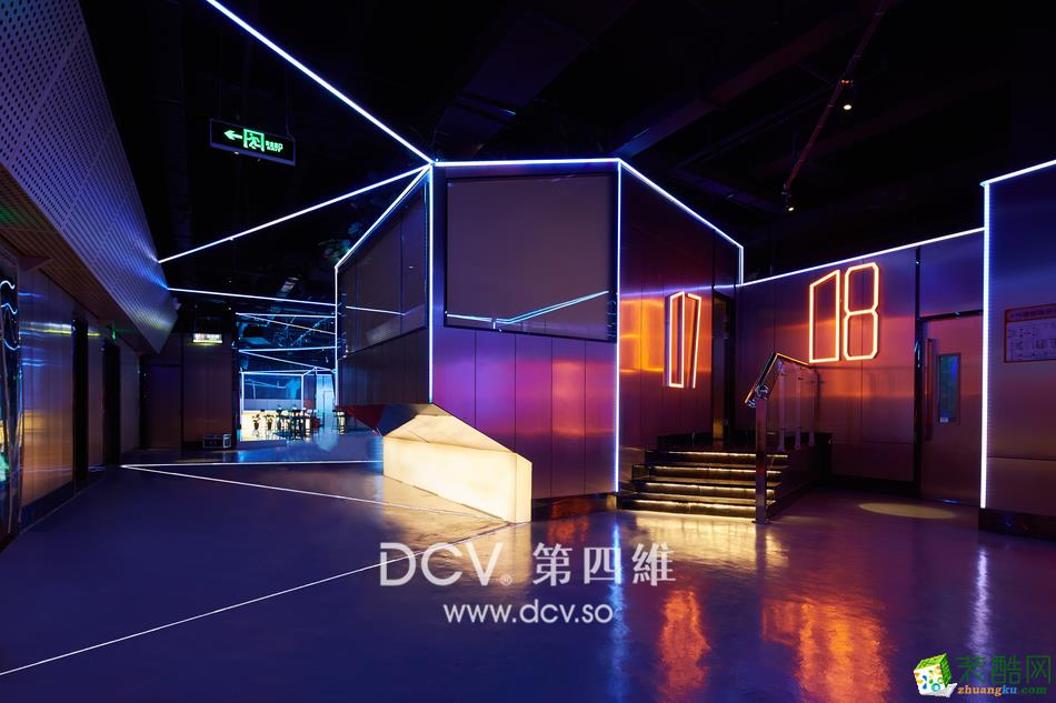 西安最具人气量贩KTV设计-21度K强音娱乐